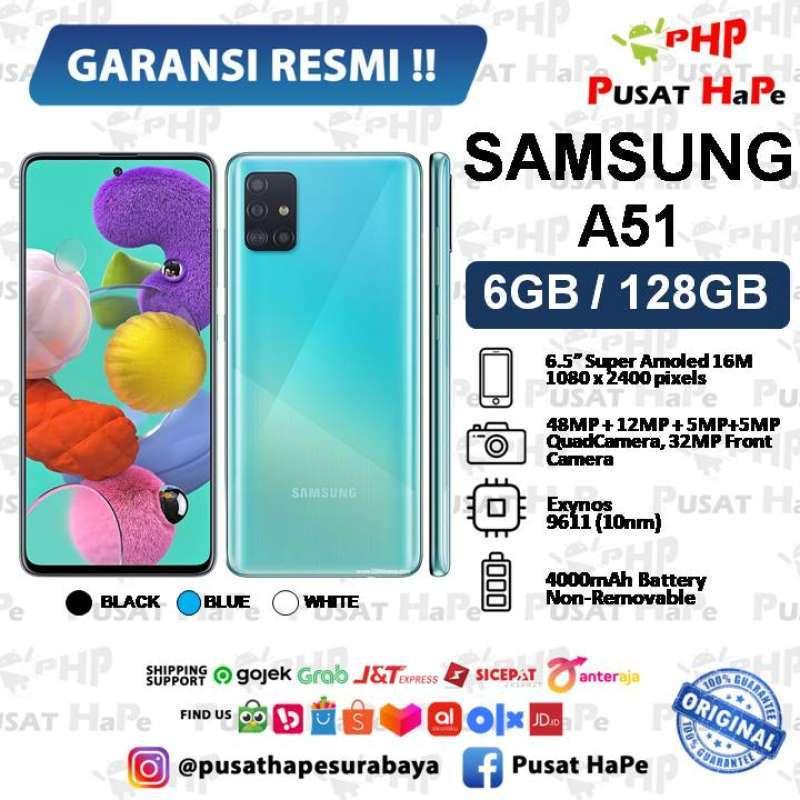 Jual Samsung A51 6 128 128gb Sein Resmi Baru Pusat Hape Surabaya Termurah Online April 2021 Blibli