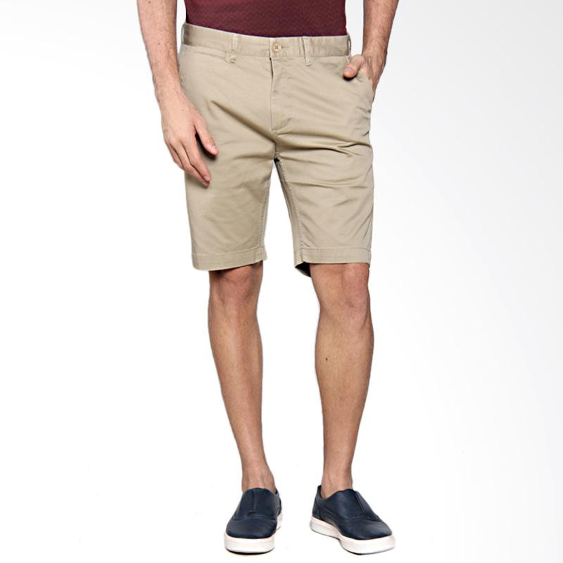 Greenlight Men 3 Relaxed Casual Short Pants - Cream [209051714]