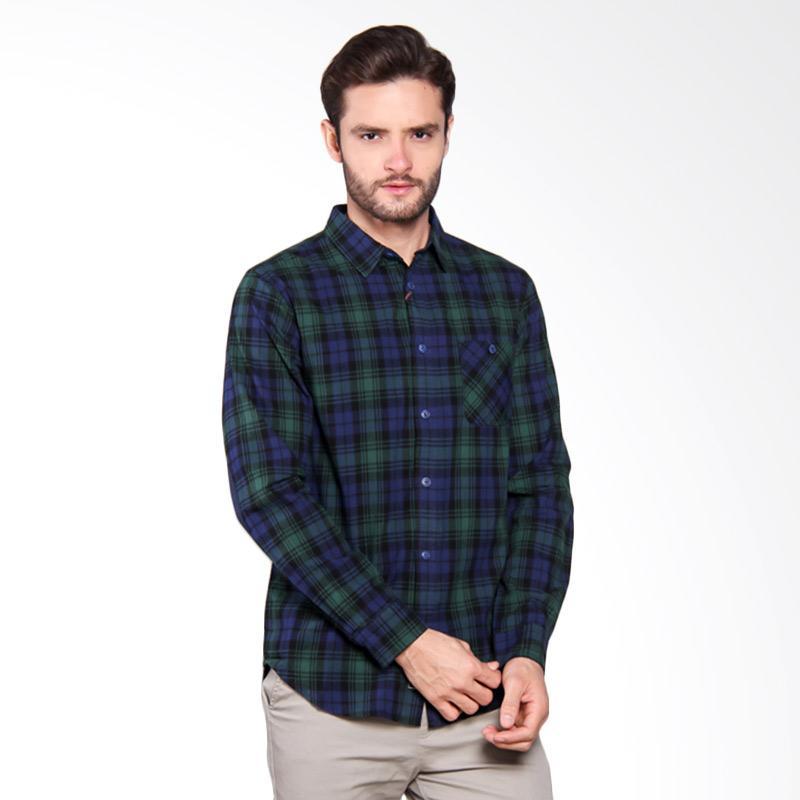 Famo Relaxed Shirt - Blue [512051711]