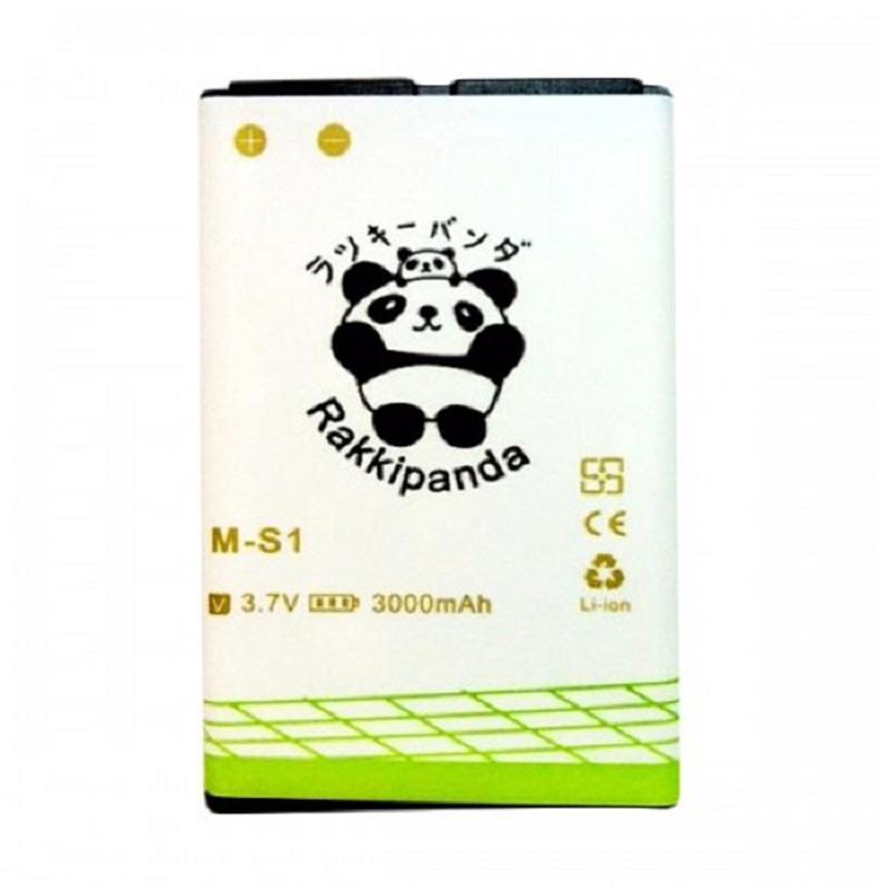 RAKKIPANDA Double Power & IC Battery for BlackBerry MS-1