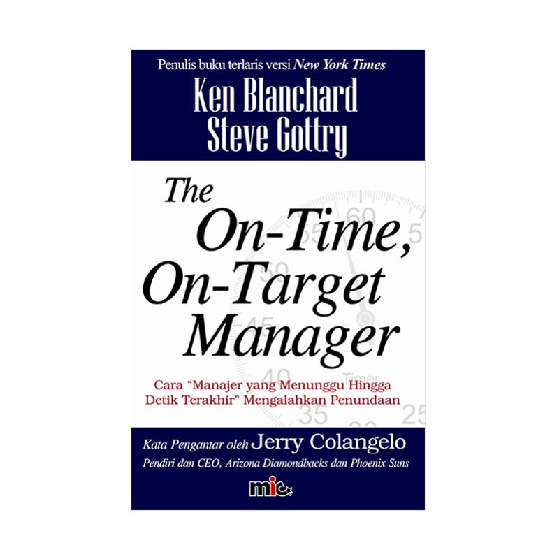 harga MIC Publishing On Time On Target Manager Buku Blibli.com