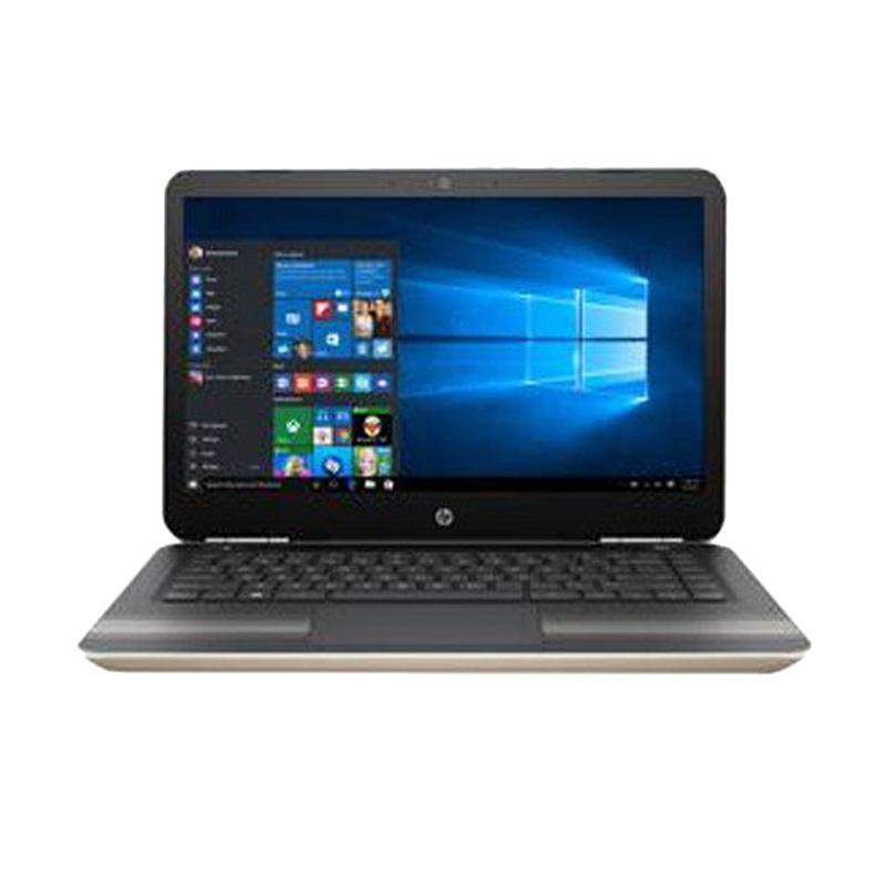 HP 14-BS016TU Notebook - Gold [14 Inch/ i3-6006U/ 4GB/500GB/ Win10]