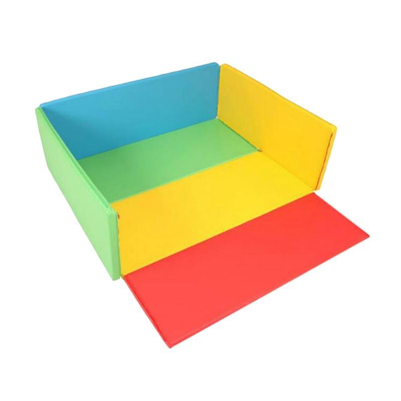 Foldaway Bumper Standard Mat Rainbow Alas Lantai