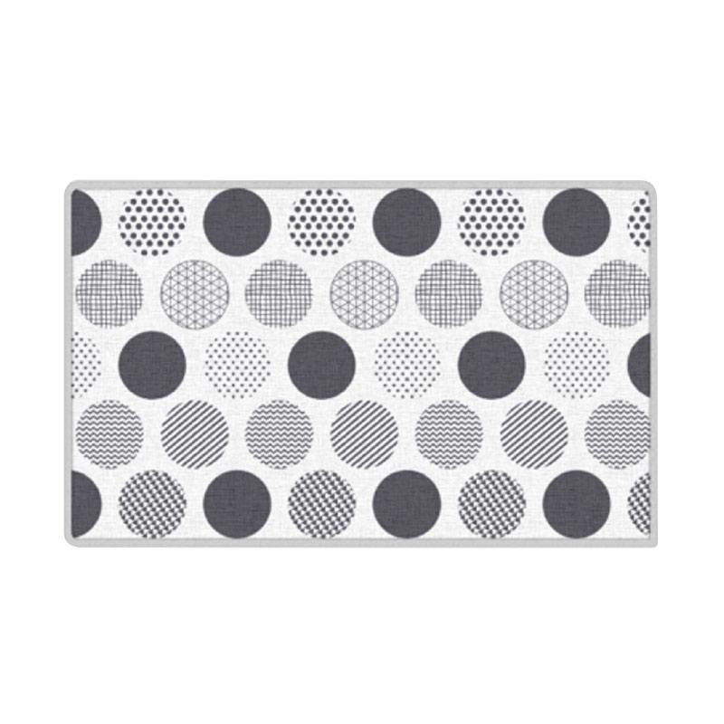 Foldaway Skin Mat Standrd 200x140x1.6 11816 Big Dots