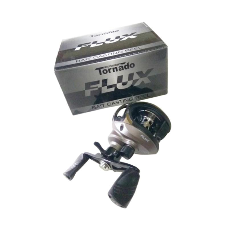harga Tornado Bc Flux Reel Pancing - Silver [Handle Kiri] Blibli.com