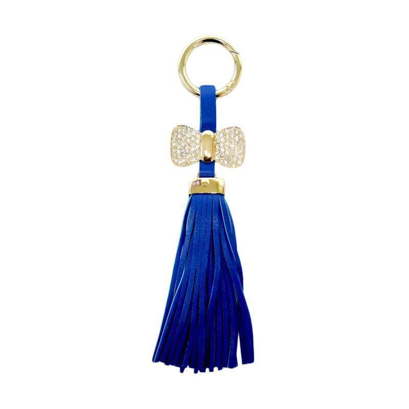 SIV GT RK04 Rumbai Ribbon with Manik Key Chain - Blue