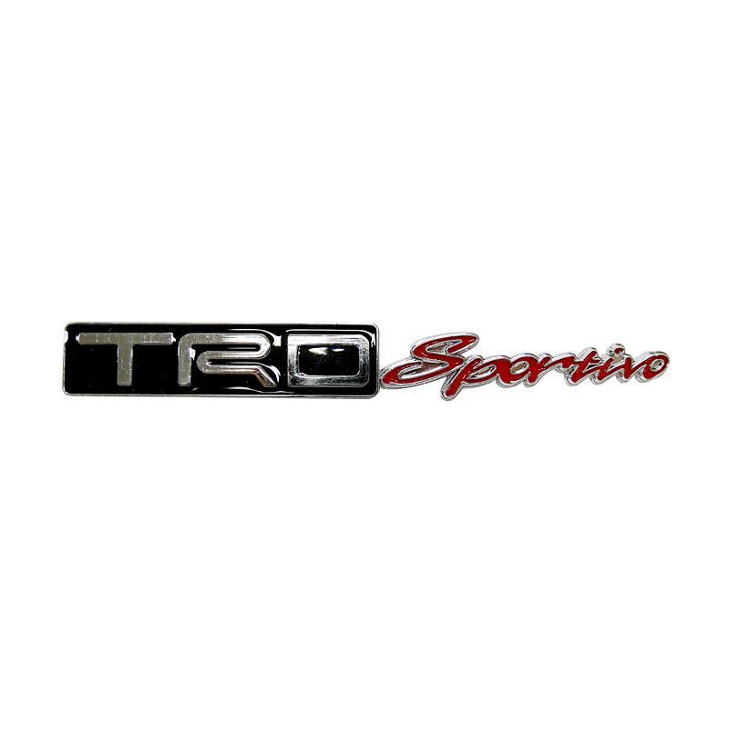SIV EMB.TRD YX-006 TRD Sportivo Universal Emblem