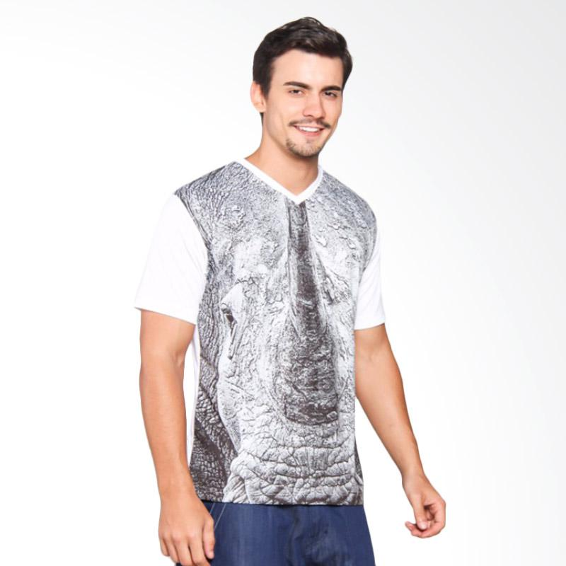 EpicMomo Rhino1 T-Shirt - White AD.00139