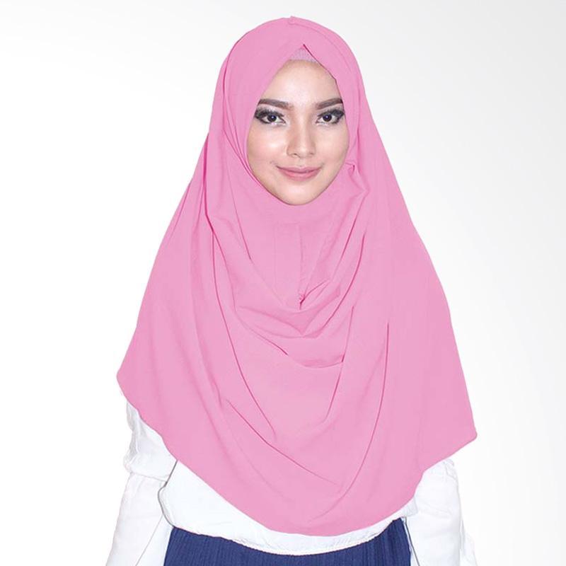Milyarda Hijab Emily Jilbab Instant - Dusty Pink