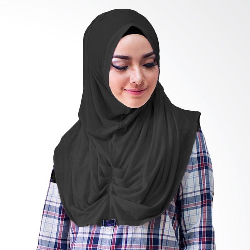 Milyarda Hijab Loly Jilbab Instant - Hitam