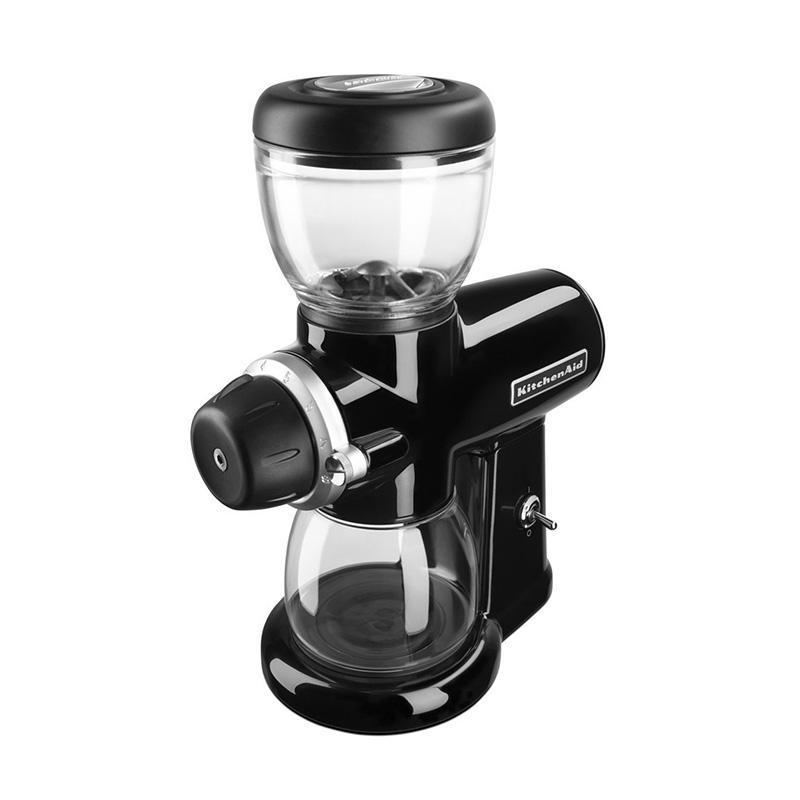 Jual Kitchen Aid Burr Coffee Grinder Onyx Black Kcg0702eob Online November 2020 Blibli Com