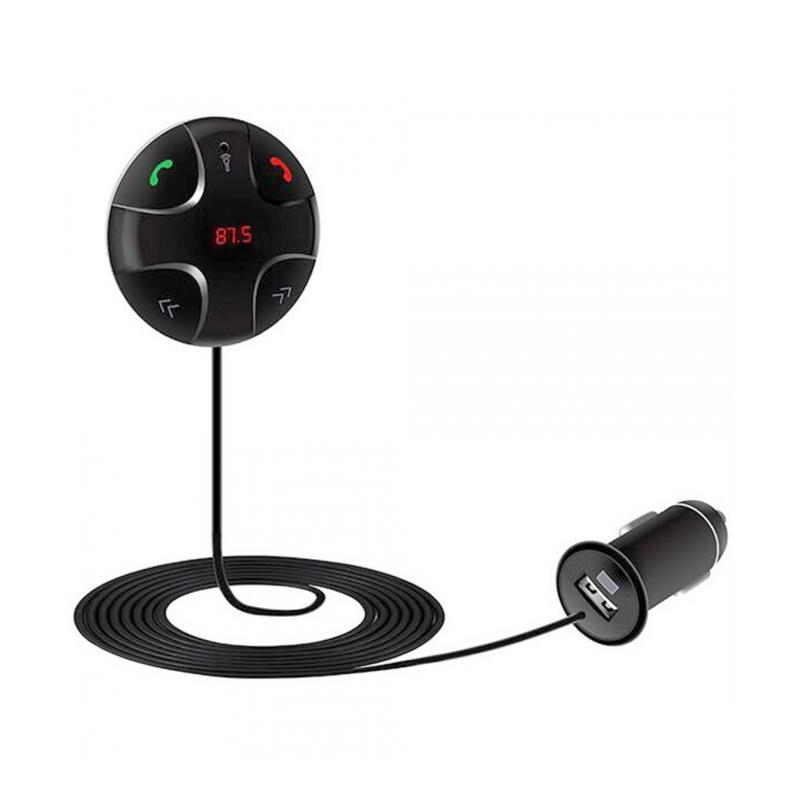 TOKUNIKU FM29B Handsfree Car Kit with Bluetooth Function FM Transmitter MP3 Player USB Charger