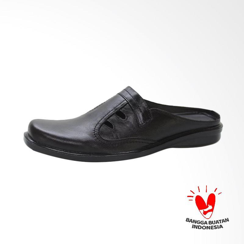 GRUTTY Sandal Bustong Pria - Hitam GR 81-089