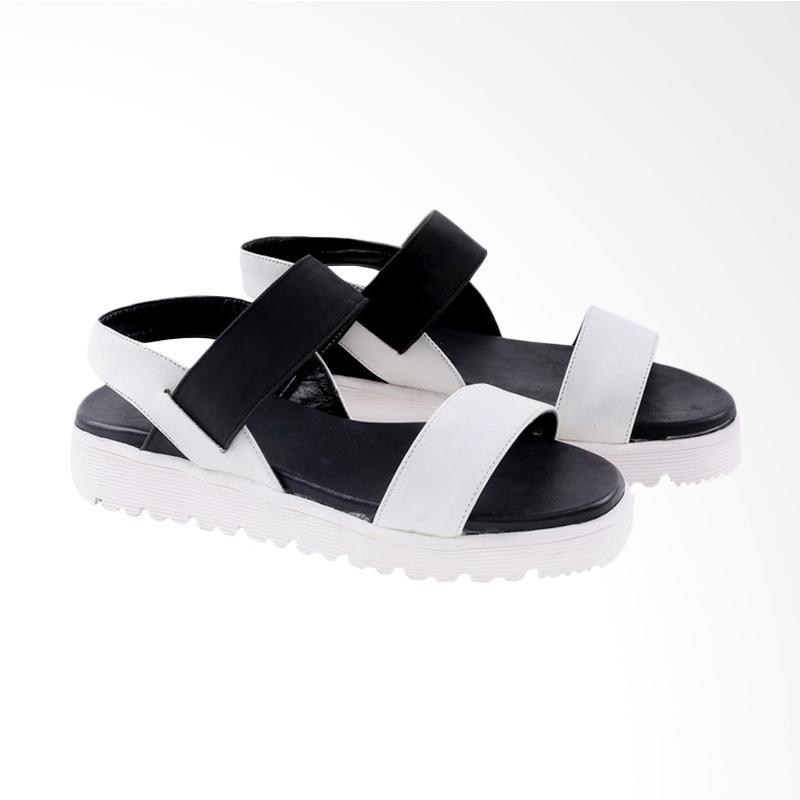 Garucci GGW 8045 Flats Sandal Wanita - White