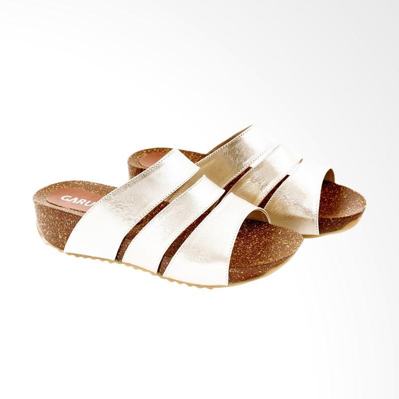 Garucci GIA 5180 Flats Sandal Wanita - Gold