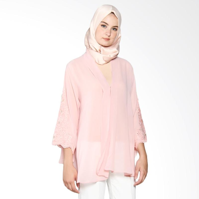 Yanna Azwar Mine Outer Cardigan Muslim - Pink