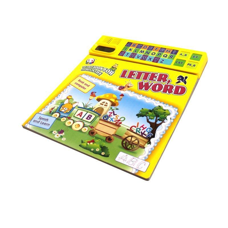 Enandem Buku Elektronik Pembelajaran Kata Mainan Edukasi Anak