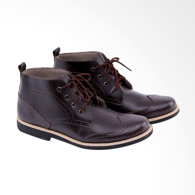 Garucci Sepatu Boot Formal Pria GSU 2056