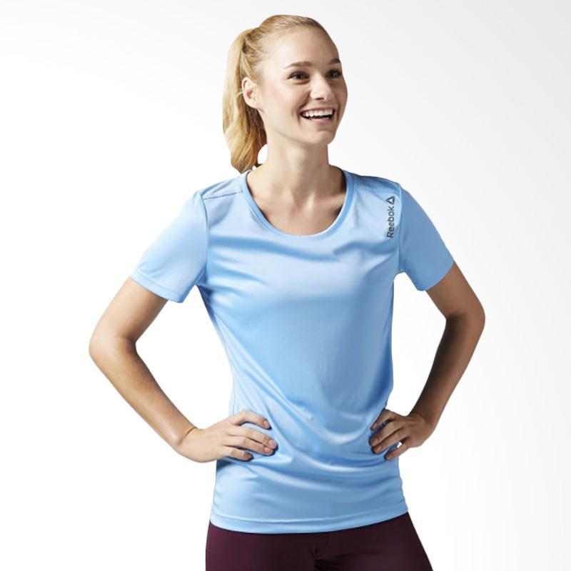 REEBOK Run Essentials SS Women's Tee Baju Olahraga Wanita BJ9888