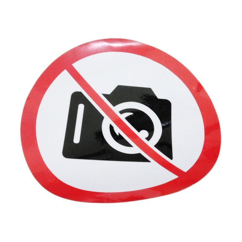 OEM No Camera Logo Dilarang Foto Potret Kantor Wall Stiker Cutting