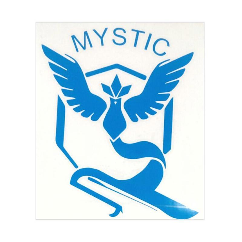 OEM Pokemon Go Team Mystic Sticker
