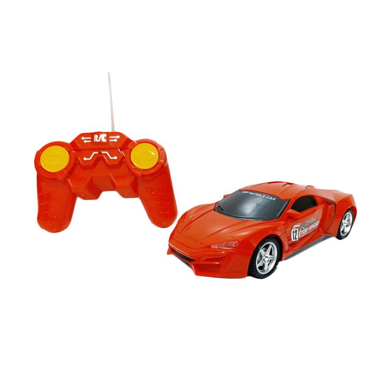 Golden Shop Top Speed Car Remote Control - Merah