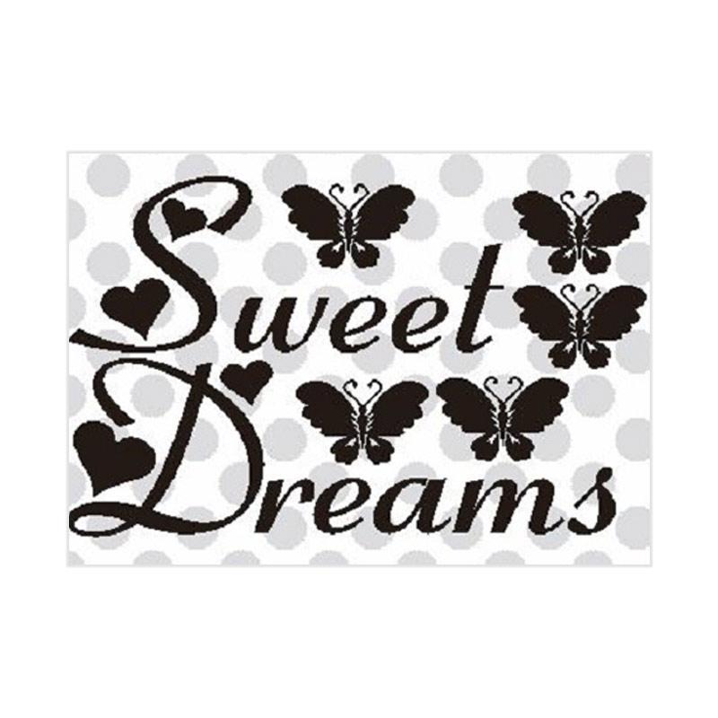 OEM Sweet Dreams Wall Sticker Dekorasi Dinding