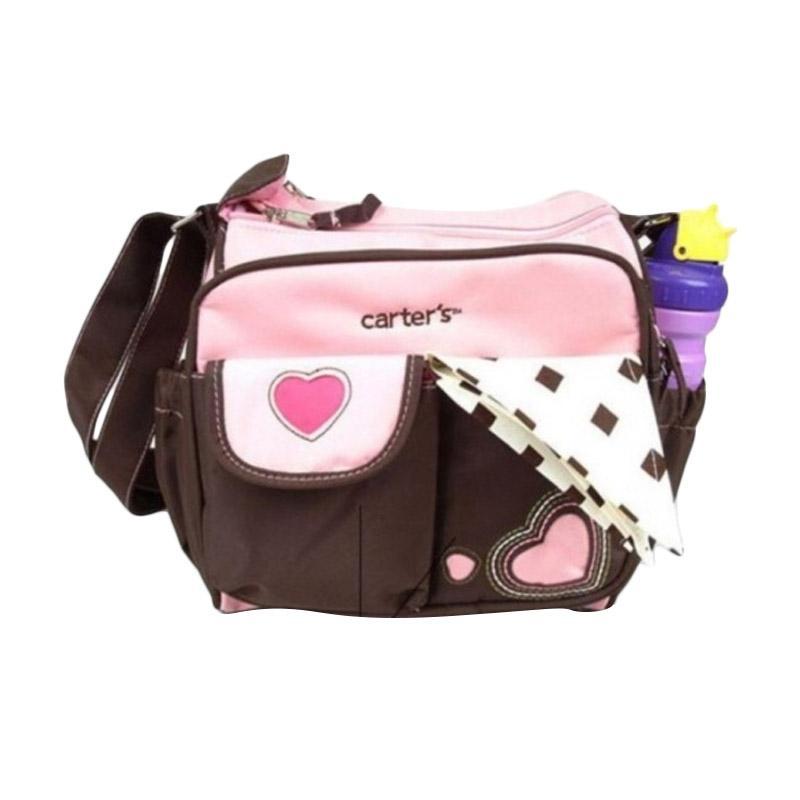 Carters Diaper Bag Mini / Tas Bayi Love - Pink