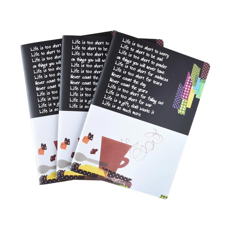 Karisma Set Buku Tulis Cangkir [A5 Jepang/ 70 g/ 3 pcs] - 745527
