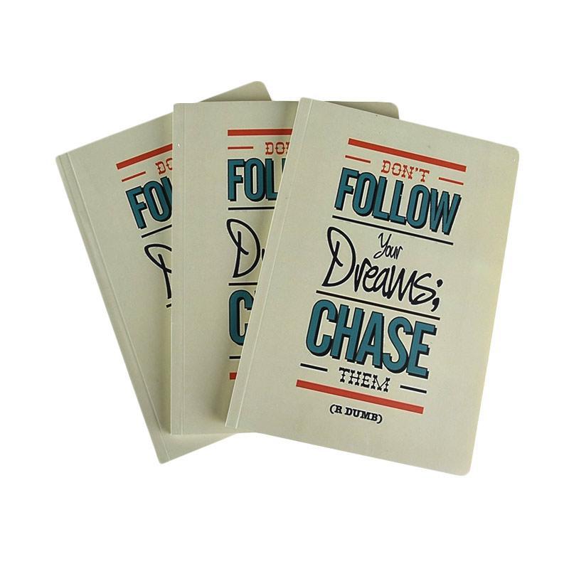 Karisma Exclusive Set Buku Tulis Don't Follow Your Dreams Chase [A5/ 80 g/ 3 pcs] - 744777