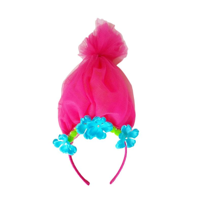 Essentia Poppy Troll Hairband - Hot Pink