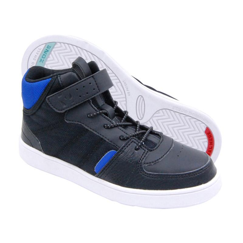 Toezone Kids Bradley Sport Yt Sepatu Anak Laki - Black Royal