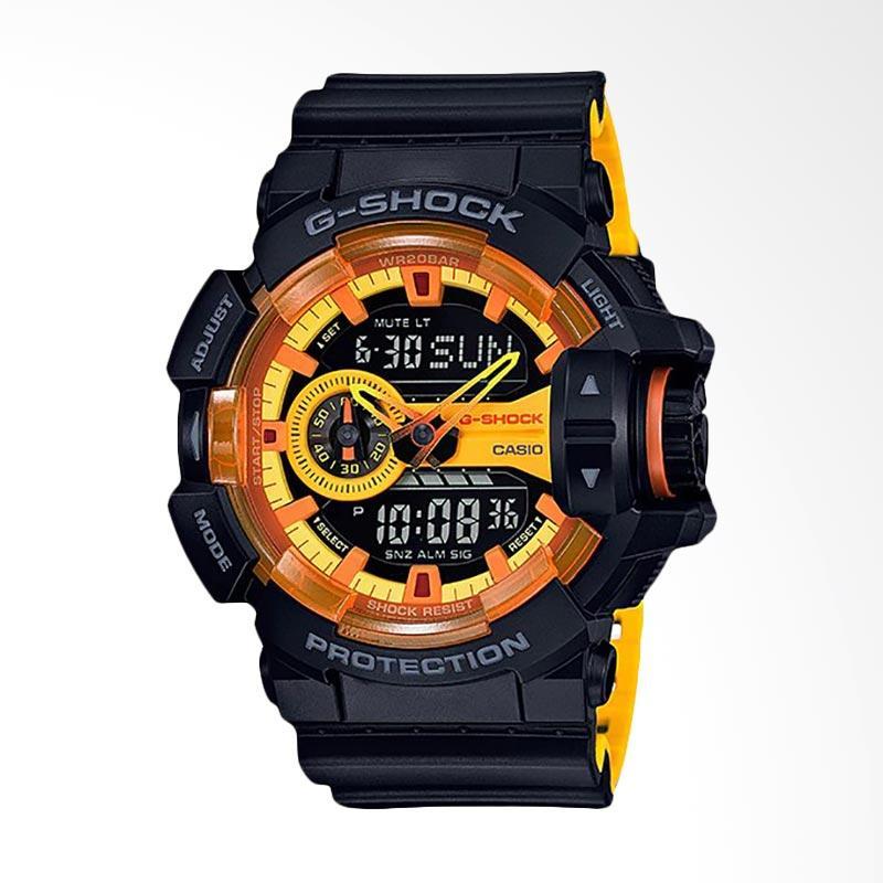 CASIO G-Shock GA-400-1ADR(DB) DJ Dash Berlin Limited Edition Jam Tangan Pria - Black Yellow
