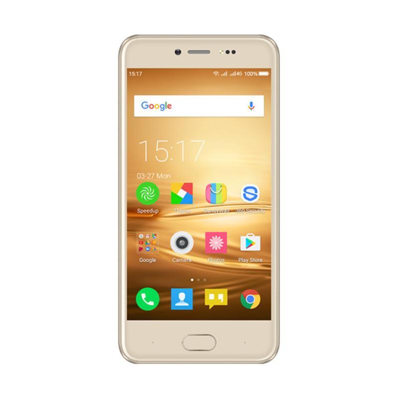 Evercoss Winner Y Star Plus Smartphone - Gold [16 GB/ 2 GB]