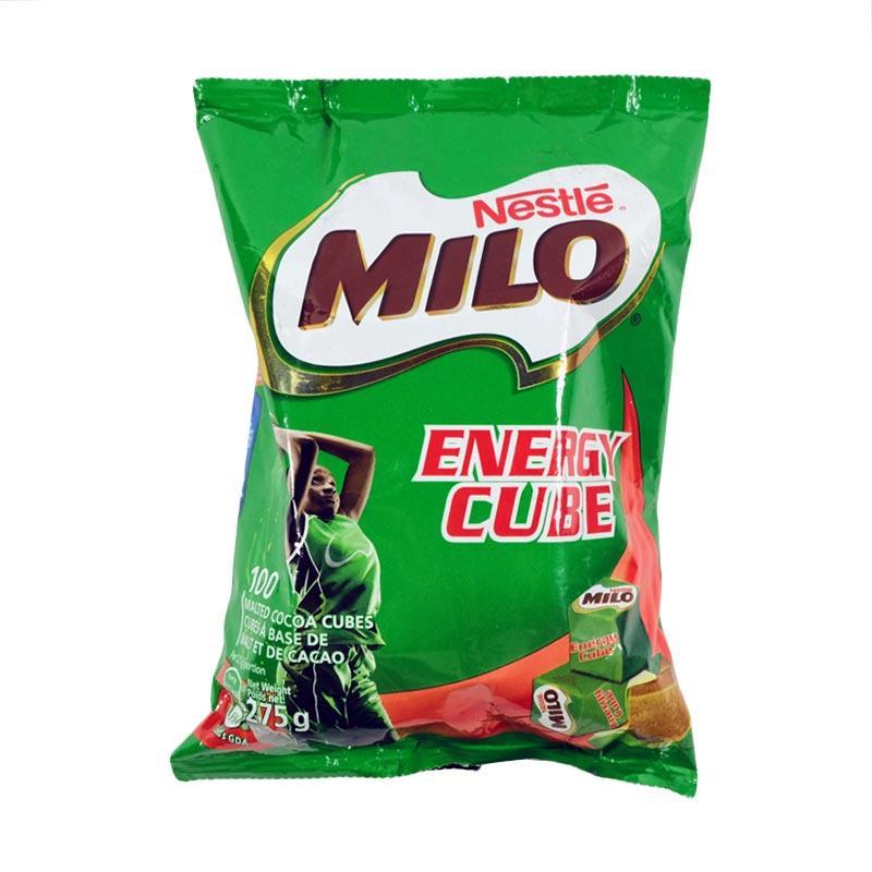 Milo Energy Cube Cokelat [275 g/100 pcs]