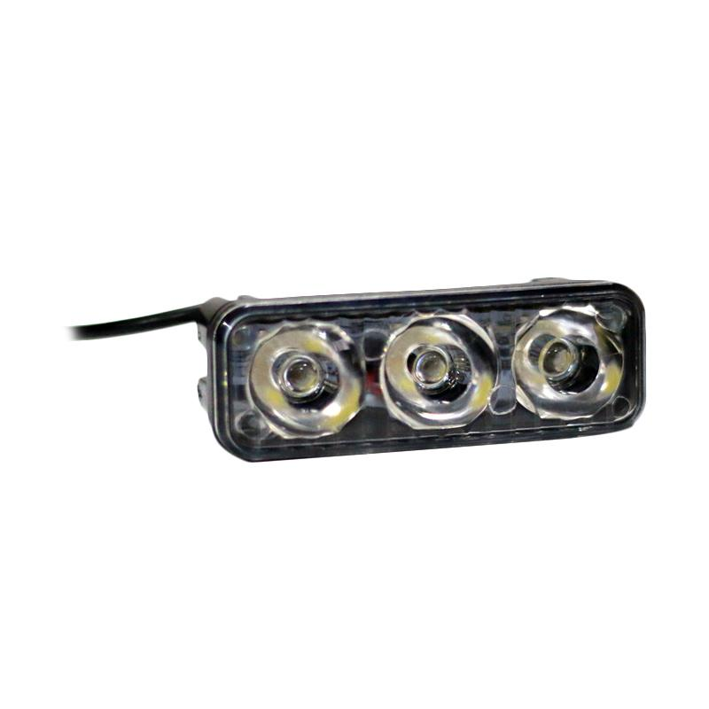 Autovision Spot Work Light Cree LED Bohlam Lampu Mobil [85 mm/12 V-24 V/9 W/6000 K]