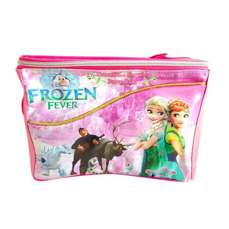 Istana Kado IKO00839 L Frozen B Tas Makan Susu dan Piknik Anak - Pink