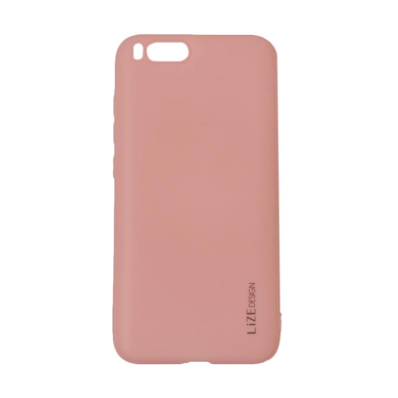 Lize Design Softshell Color Matte Softcase Casing for Xiaomi Mi 6 or Mi6 - Pink