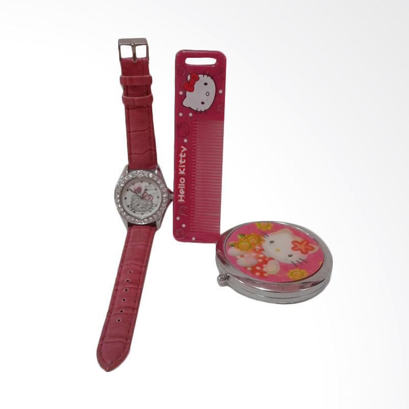 Hello Kitty HK-006 Paket Dandan Jam Tangan Wanita - Multicolor