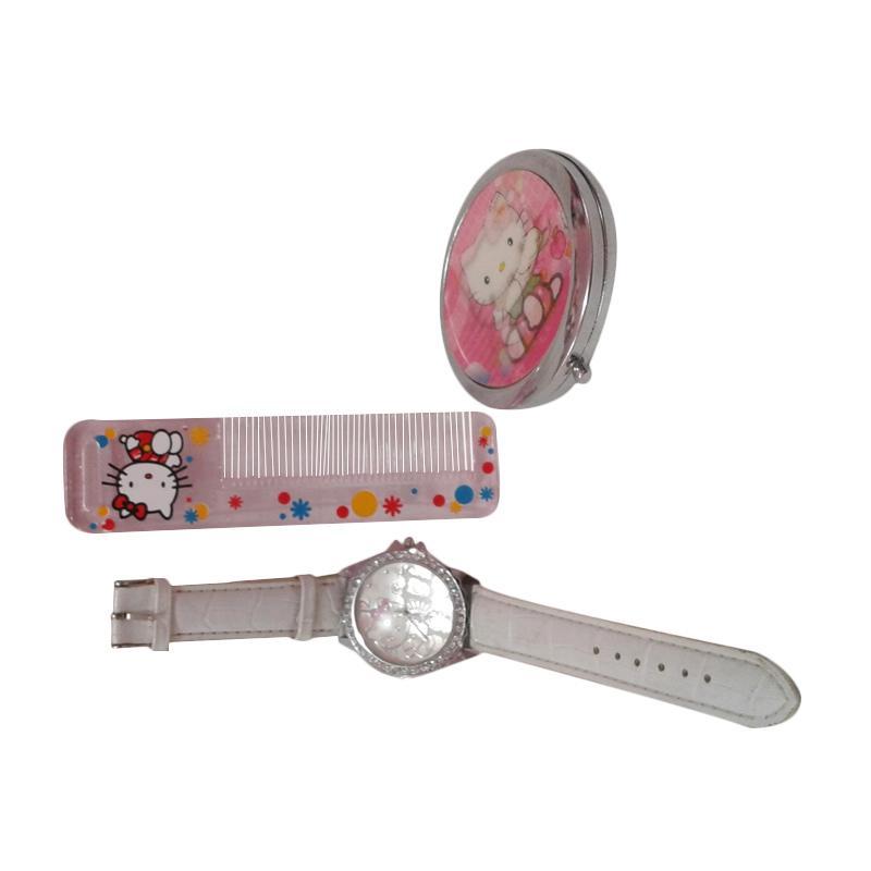 Hello Kitty HK-007 Paket Dandan Jam Tangan Wanita - Multicolor