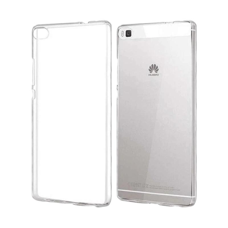 Ume Ultrathin Silicone Jellycase Softcase Casing for Huawei P8 Lite - Transparan