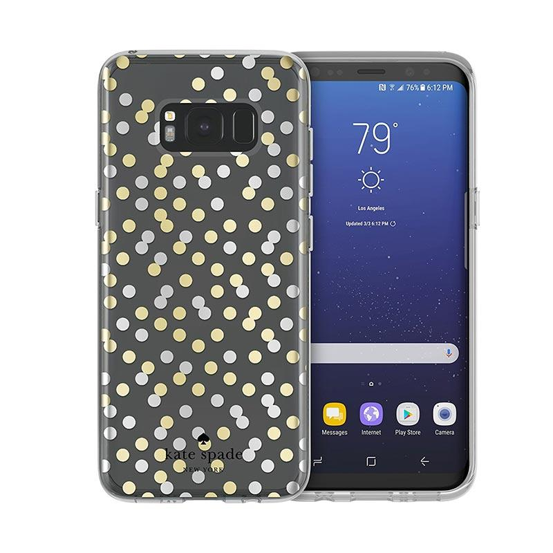 Kate Spade New York Protective Hardshell Confetti Casing for Samsung Galaxy S8