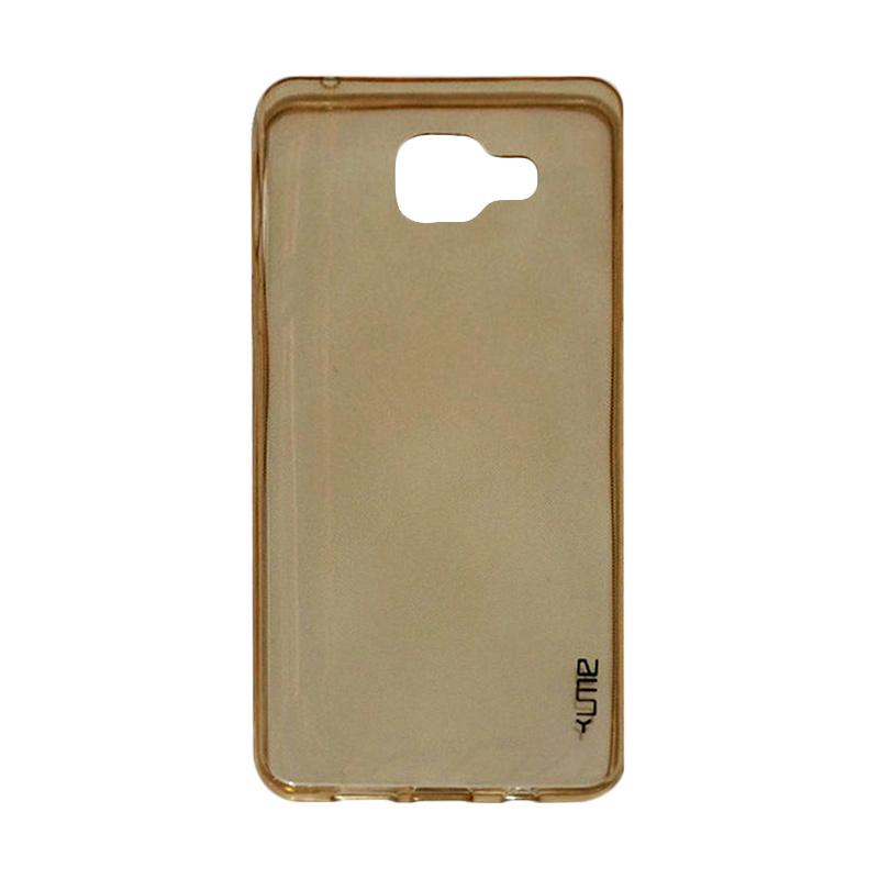 Ume Ultrathin Silicone Jelly Softcase Casing for Samsung Galaxy A5 A510 2016 - Kuning