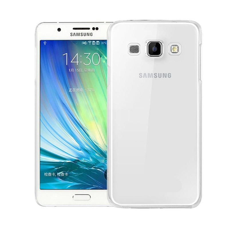 Ume Ultrathin Silicone Jellycase Softcase Casing for Samsung Galaxy A5 A500F - Transparan