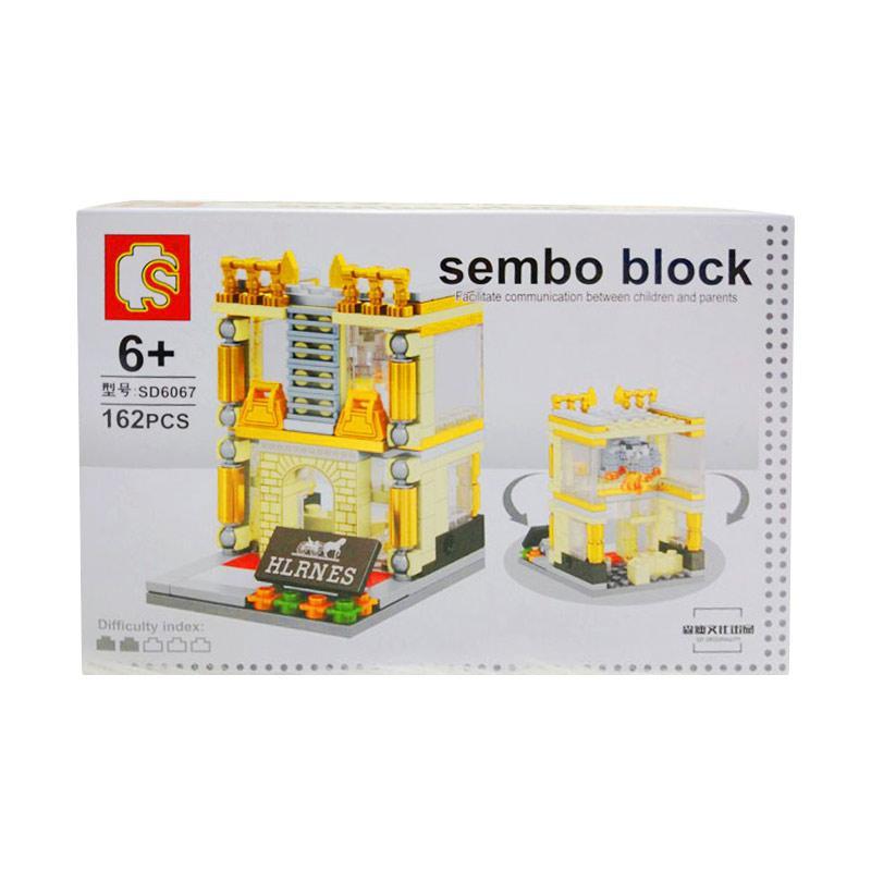 Istana kado Sembo Building Block IKO00853 City Puzzle N/A Hermes Mini Blocks