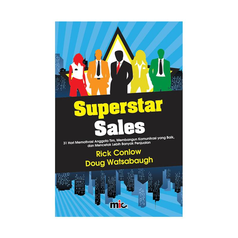 harga MIC Publishing Superstar Sales by Rick Conlow Buku Manajemen & Kepemimpinan Blibli.com