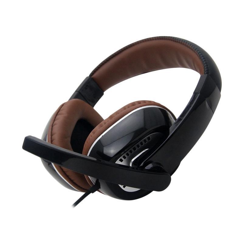 Gorsun GS-M995 Deep Bass Headset - Brown