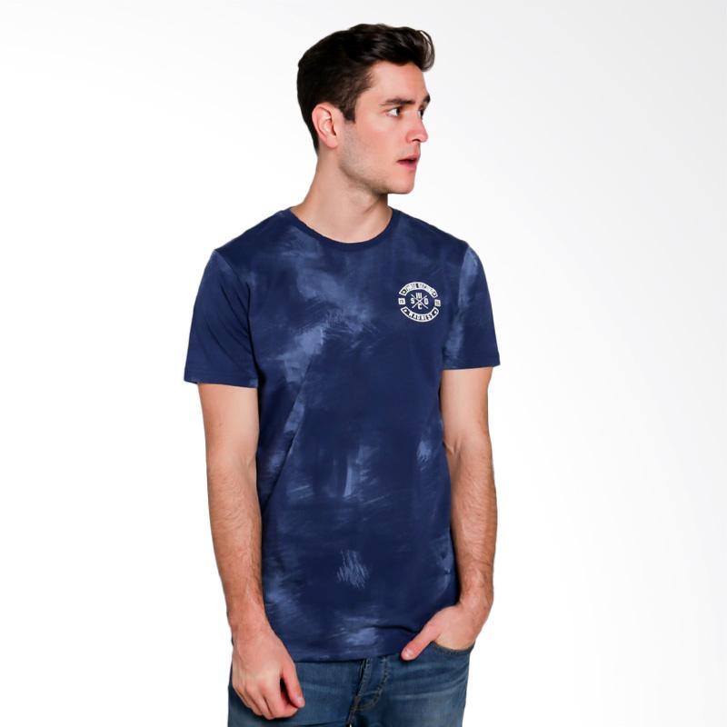 3SECOND Men T-shirt Atasan Pria - Blue