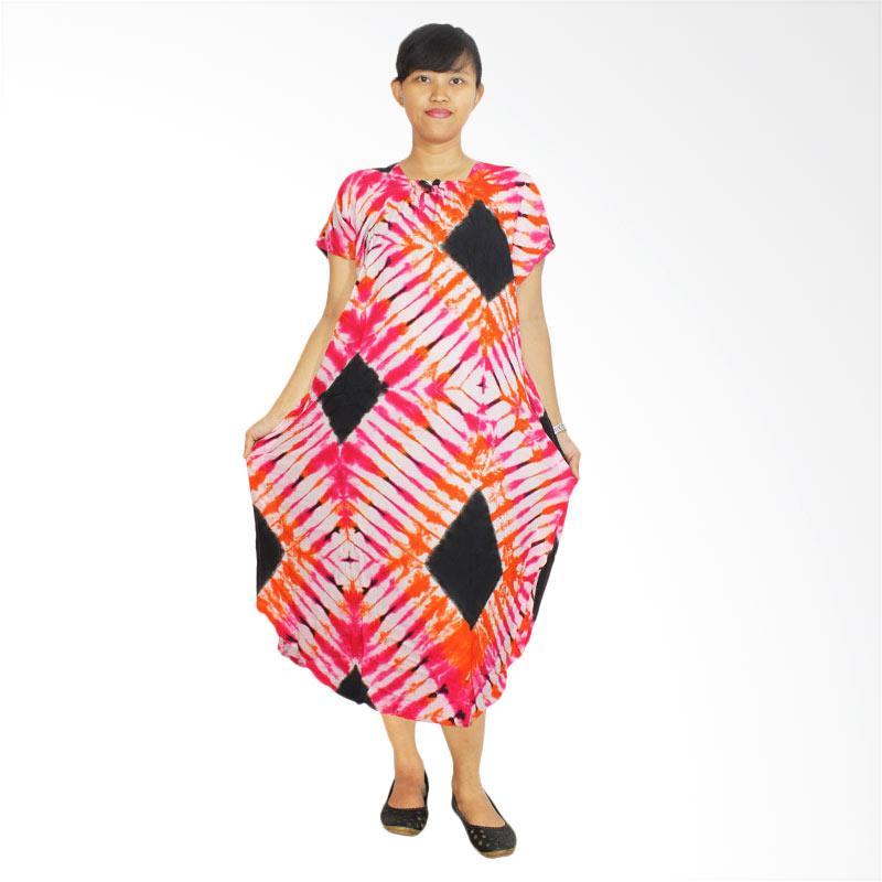 Penjual Batik Alhadi DPT002-06C Lowo Batik Kerut Daster Jumbo Ibu Hamil    Menyusui - f6deace1d7