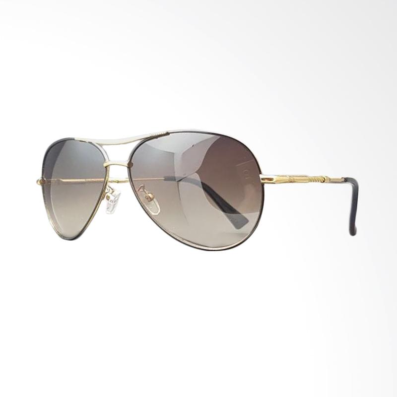 Bawor Distro 86 Roberto Cavalli Full Pilot Sunglasses - Black Gold [58 mm]